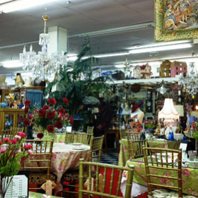 Antique Outlet &  Mitra'sTearoom
