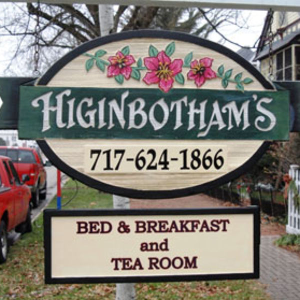 Higinbotham's Bed & Breakfast and Tea Room