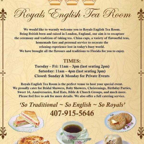 ROYALS ENGLISH TEA ROOM